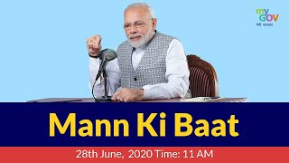 PM Narendra Modi Mann Ki Baat: 28th June 2020 - Download this Video in MP3, M4A, WEBM, MP4, 3GP