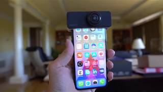PanoClip Hands On: Turn Any iPhone Into 360 Cam