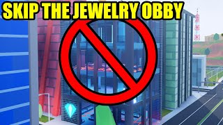 SKIP the JEWELRY STORE OBBY with this TRICK! | Roblox Jailbreak