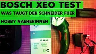 Bosch XEO Unboxing und Test für Nähbegeisterte / 1 Meter Jersey Stoff gewinnen
