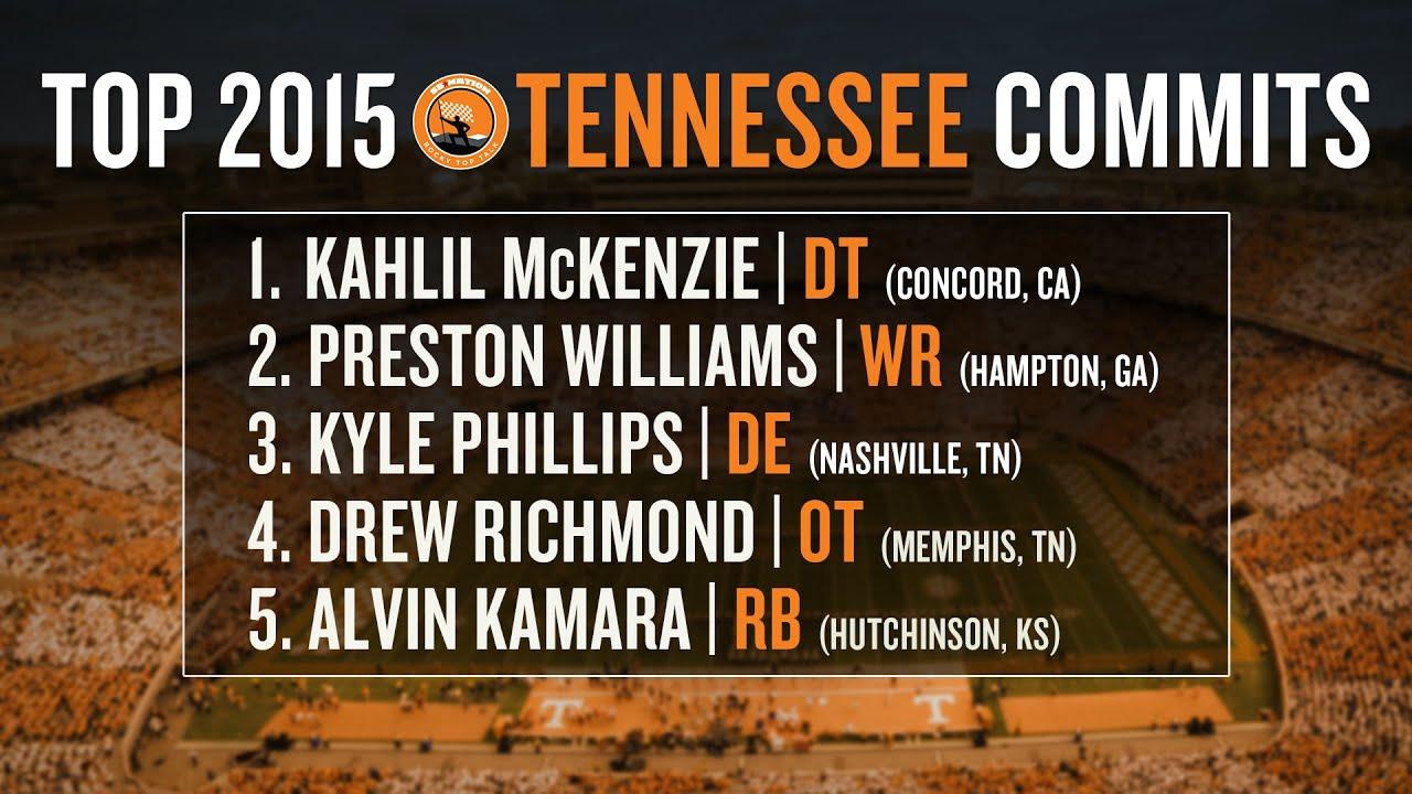 Tennessee football recruiting 2015: early impact freshmen, recruiting class breakdown thumbnail