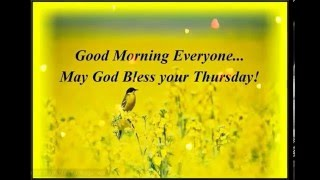 Happy Thursday Greetings/Quotes/Sms/Wishes/Saying/E-Card/Wallpapers/ Whatsapp Video