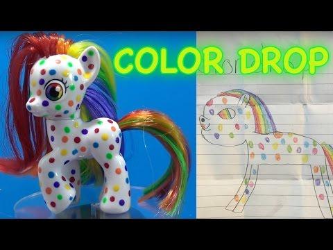 COLOR DROP RAINBOW PONY || Fan Custom Friday #19 || Custom OC Pony Giveaway #FCF