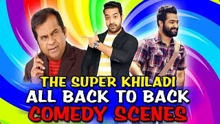 The Super Khiladi All Back To Back Comedy Scenes | South Indian Hindi Dubbed Best Comedy Scenes