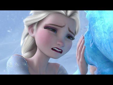 Frozen 2017 - Elsa & Anna Best Scenes - Disney Animation For Kids