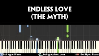 Endless Love (The Myth - Thần Thoại OST) | Easy Piano Tutorial #80