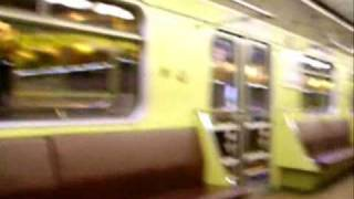 preview picture of video 'Výjezd metra na Nové Butovice a jízda na Hůrku'