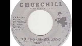 "Cindy Hurt ""I'm In Love All Over Again"""