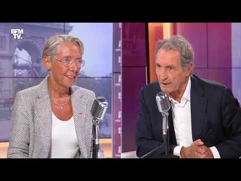 Elisabeth Borne face à Jean-Jacques Bourdin