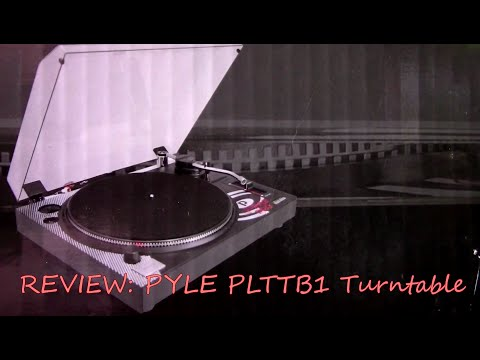 Review of the Pyle PLTTB1 Turntable