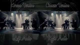 EXO - Wolf (Korean Chinese MV Comparison)