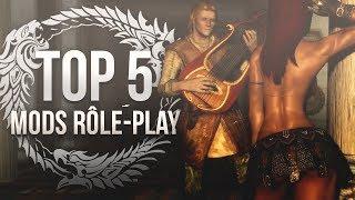 TOP 5 MODS Rôle-Play - Skyrim (Xbox/PC)