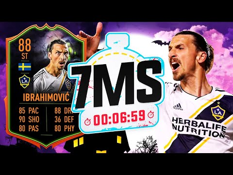88 SCREAM ZLATAN IBRAHIMOVIC!! 7 MINUTE SQUAD BUILDER - FIFA 20 ULTIMATE TEAM