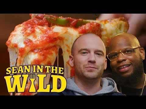 New York vs. Chicago Pizza Debate with Meyhem Lauren | Sean in the Wild