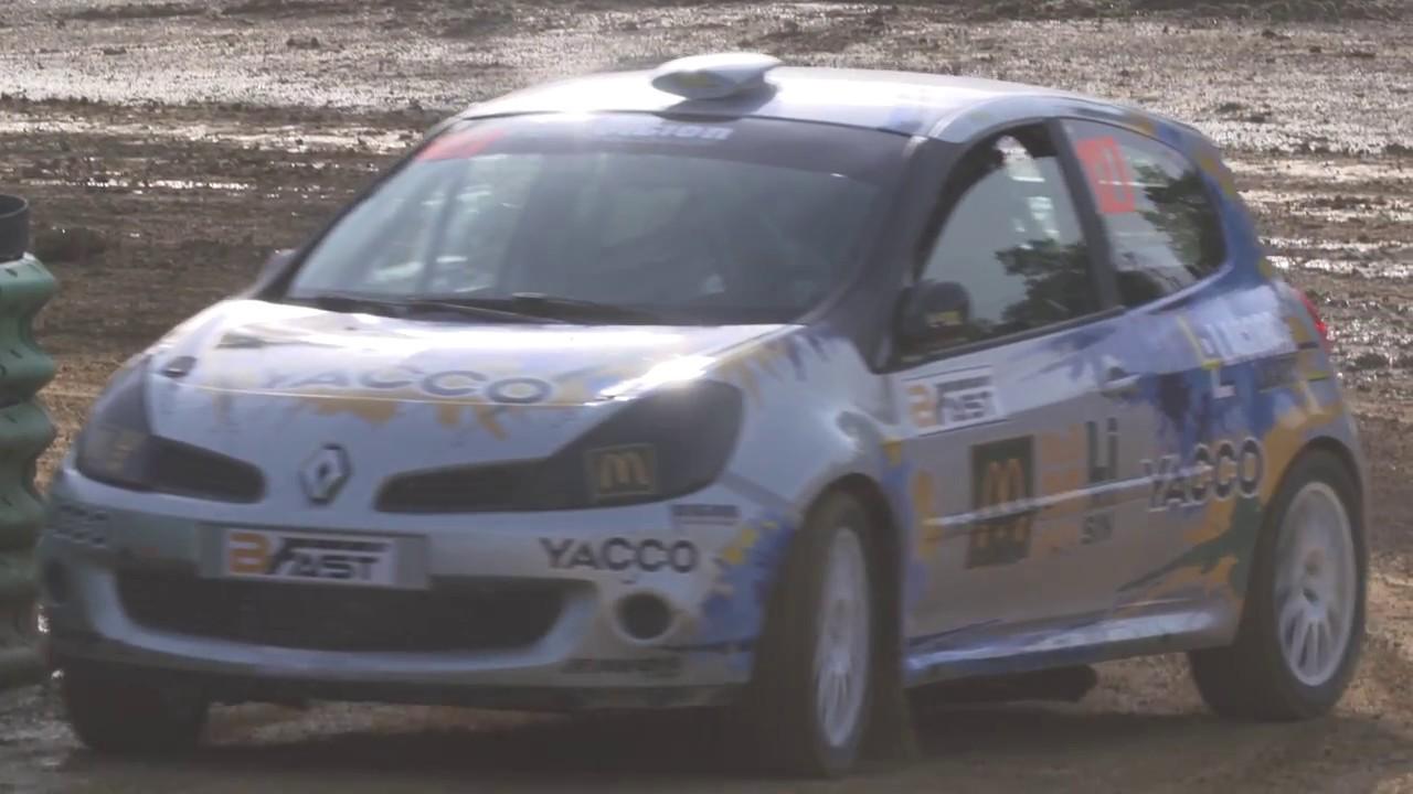 Rallycross 2017 : deuxième manche à Faleyras