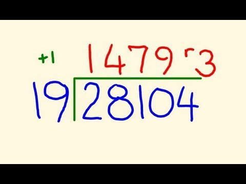 Download Long Division trick - Fast calculation! Mp4 HD Video and MP3