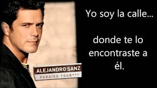 Alejandro Sanz   No Me Compares Letra