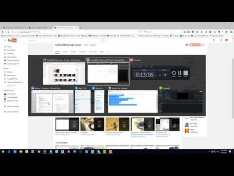 TurboCAD 2017 Webinar 1 - 2D Drawing Essentials - YouTube