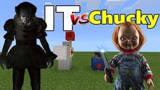 IT vs Chucky   Minecraft PE