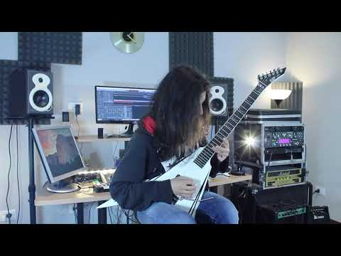 Children of Bodom - Children of Decadence (w/SOLO - ESP Alexi Laiho - Guitar Cover)