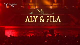 Aly & Fila play Luke Bond - 'On Fire' (A&F Remix) (Live at Transmission Australia)