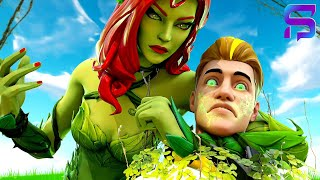 POISON IVY TURNS LACHLAN EVIL.... ( Fortnite Short)