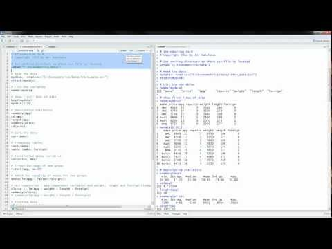 R Tutorial: Introduction to R