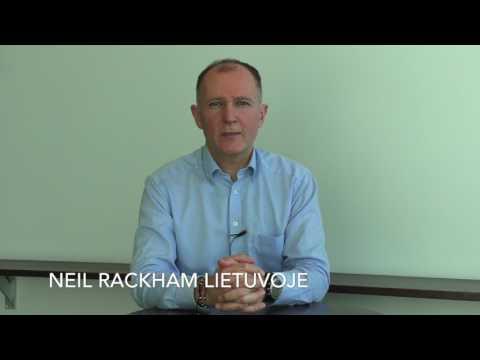 Darius Pietaris apie NEIL RACKHAM