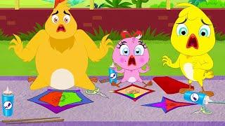 Eena Meena Deeka | Luta de pipa | Desenhos animados para crianças