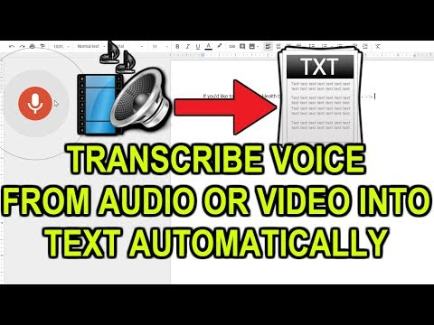 Transcribe Any Video Or Audio With Google Drive and
