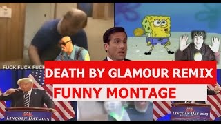 Undertale - Death By Glamour Remix - FUNNY MONTAGE