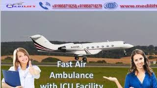 Medilift Air Ambulance Services in Indore-Find the Top Class of Facility