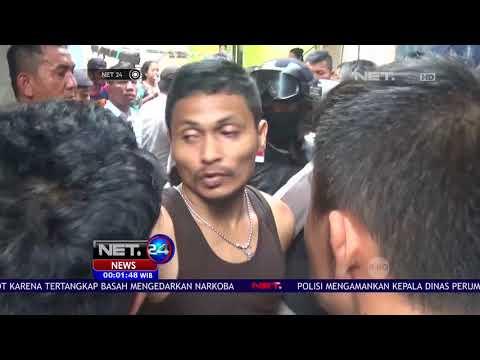 Polisi Gerebek kampung Narkoba Di Medan -NET24