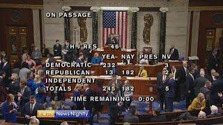 Senate has votes to reject President's national emergency - ENN 2019-03-04