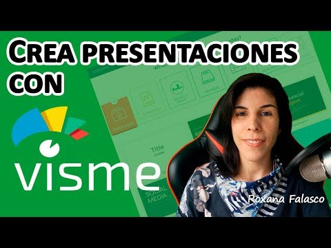 Visme en Español. Tutorial: Como crear una presentación