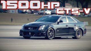1500HP Cadillac CTS-V WORLD RECORD!