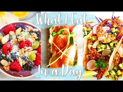 WHAT I EAT IN A DAY | PESCATARIAN MEAL IDEAS Vlog!