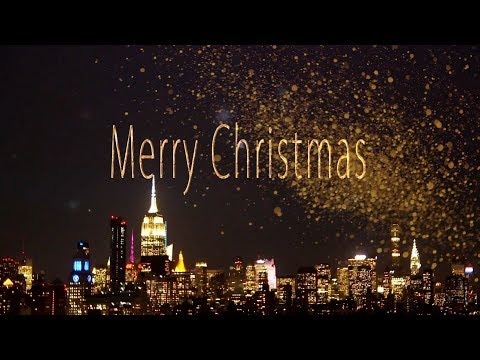 🎄Merry Christmas & Happy New Year 2019!🎄  4K Animation Greeting card