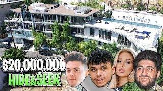 HIDE AND SEEK IN $20,000,000 MANSION!!