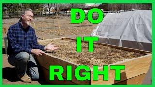 Common Raised Garden Bed Mistakes (To Avoid)