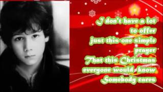Nicholas Jonas - Joy to the World (A Christmas Prayer) with lyrics