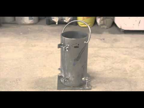 Making Strength Test Cylinders for Roller Compacted Concrete - ASTM C1435