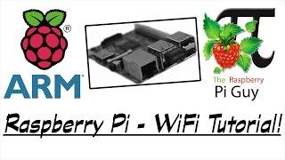 Raspberry Pi - WiFi Tutorial!