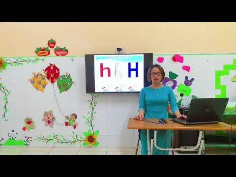 Làm quen chữ cái: h-k. GVTH: Cô giáo Trần Thị Thu Hà - GV Lớp 5 tuổi A4. Trường MN Vũ Hội.