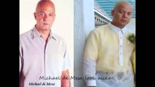 Bruce Willis and Michael de Mesa Look Alike