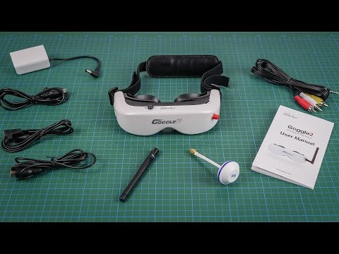 Walkera Runner 250 Advance #05 - Goggle 2 Unboxing