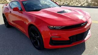 2020 Camaro SS Burnouts and Exhaust
