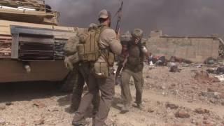 American Badass saves girl in Mosul