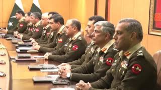 Press Release No 5/2020 - 228th Corps Commanders' Conference - 14 Jan 2020 (ISPR Official Video)