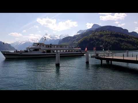 City of Brunnen, on Lake Lucerne
